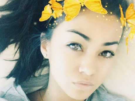 Facebook photo of 21 year old British backpacker Mia Ayliffe-Chung who was violently stabbed to death at the Shelley's Backpackers in Home Hill near Townsville, Queensland.