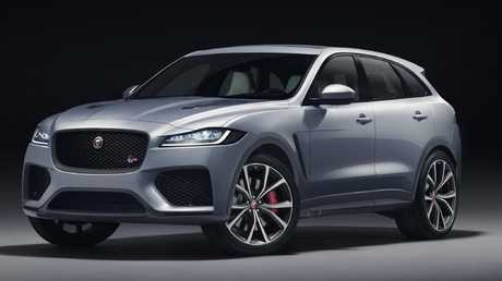 The new high-performance Jaguar F-Pace SVR promises mind-bending speed.