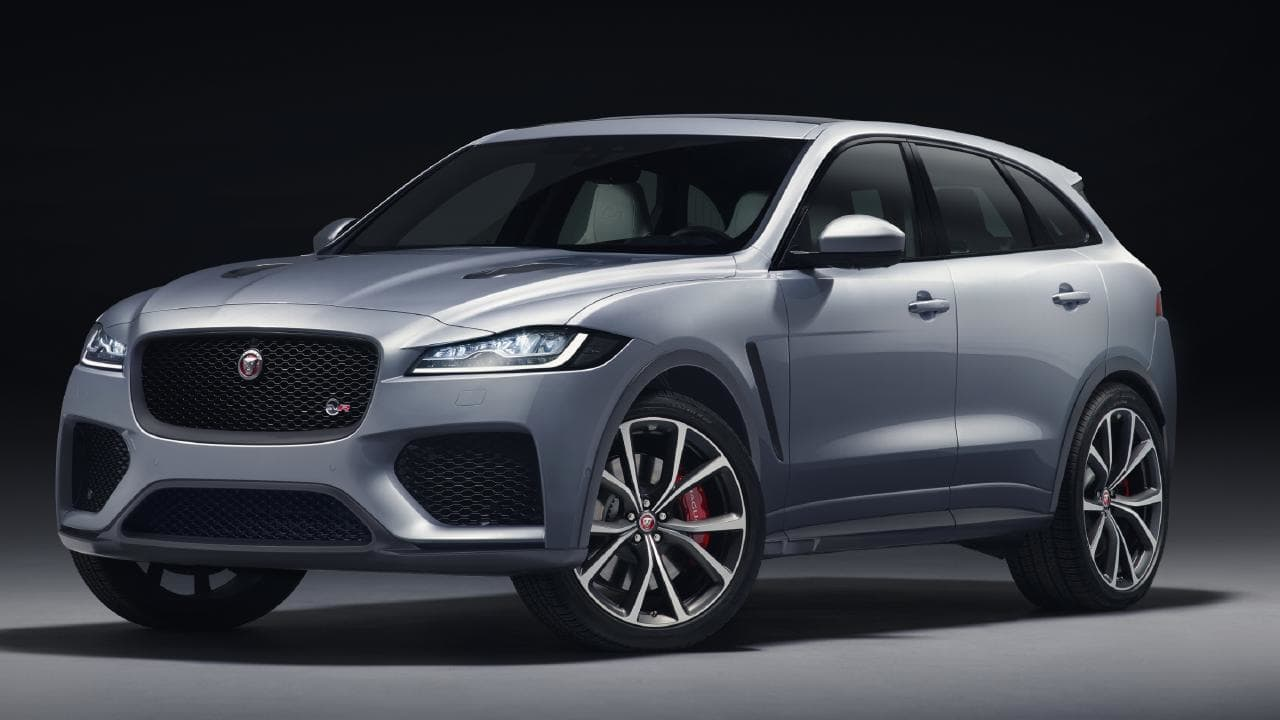 The new high-performance Jaguar F-Pace SVR promises mind-bending speed.