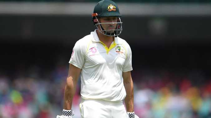 Shaun Marsh could be just one innings away from losing his spot in the Australian Test XI once and for all. Picture: AAP