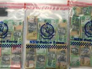 Man found with $130k in suitcase
