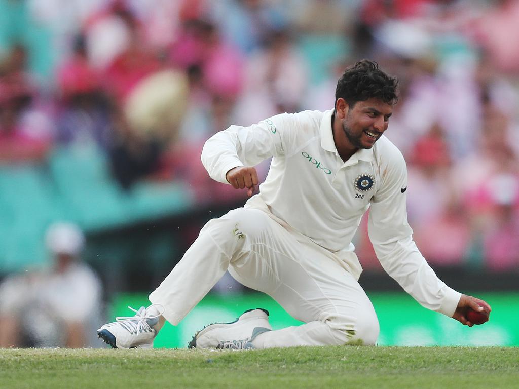 Kuldeep Yadav claimed five wickets at the SCG.