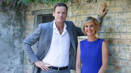 Tom Steinfort and Deborah Knight join the Today show's new line-up. Picture: Jamie Hanson