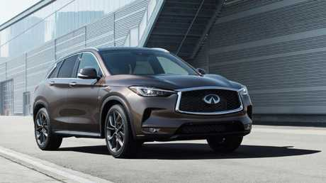 Infiniti is hoping the QX50 SUV can boost its sales.