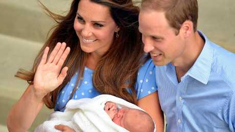 Prince William and Catherine, Duchess of Cambridge welcomed all three children at the Lindo Wing. Picture: John Stillwell/WPA-Pool/Getty Images