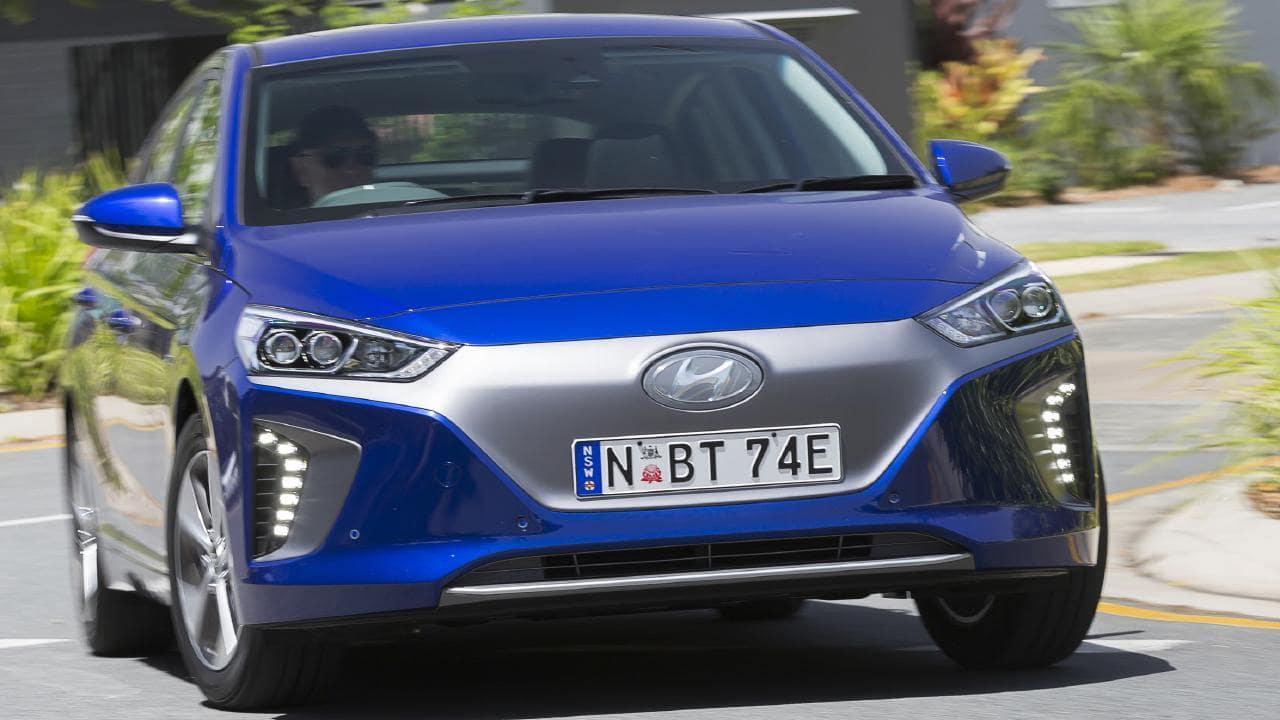 2019 Hyundai Ioniq.