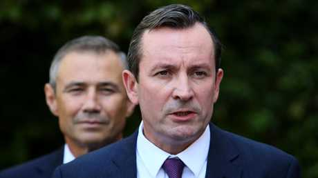 Health Minister Roger Cook said he spoke to the woman and apologised, and has asked authorities to investigate the matter. Picture: Colin Murty