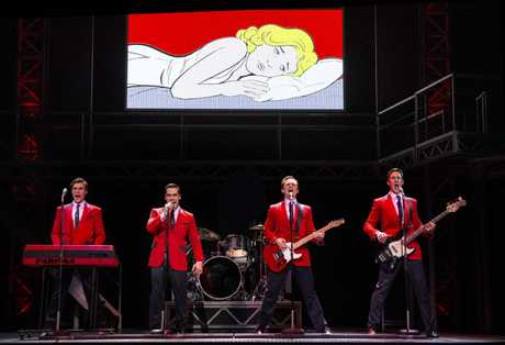 Jersey Boys is full of crowd-pleasing hits.