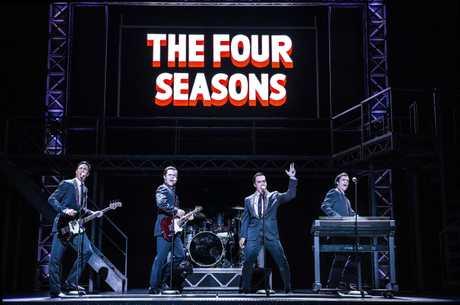 Jersey Boys rocked the Lyric Theatre on Saturday night.
