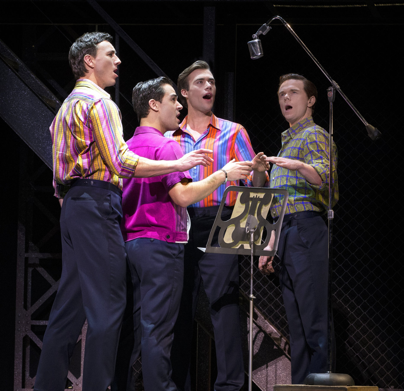 The musical Jersey Boys returns to Brisbane. Supplied by QPAC.