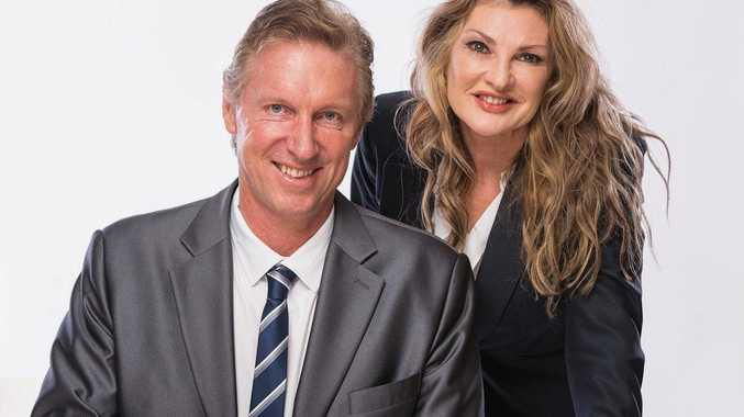 TUF DUO: Dr John and Elizabeth McIntosh have saved three lives since the launch of their Tuf Minds app.