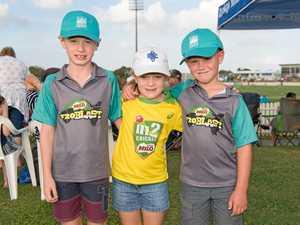 GALLERY: Big Bash cricket draws crowd to Harrup Park