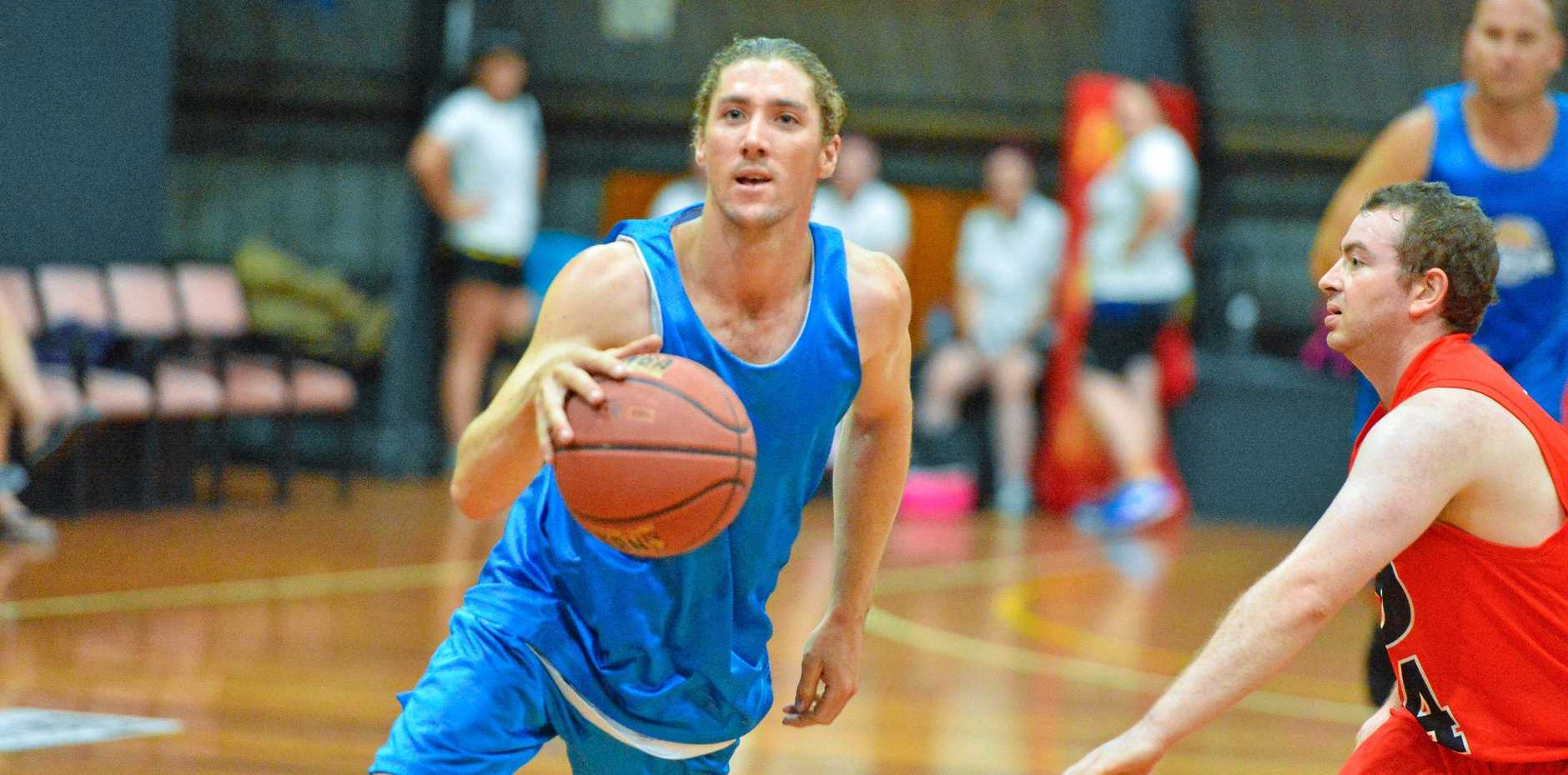 PASSION REGAINED: Gladstone point guard Nathan Druitt returns to the game this season.