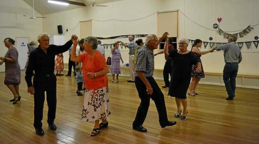MOVE 'N' GROOVE: Bowenville's Old Time, New Vogue dance is open to all ages.