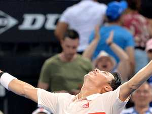 Nishikori goes the long way round for final title