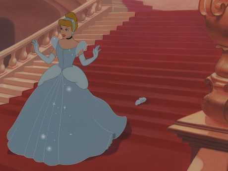 The original Cinderella's mum just sort of, disappeared, a bit like that glass slipper.