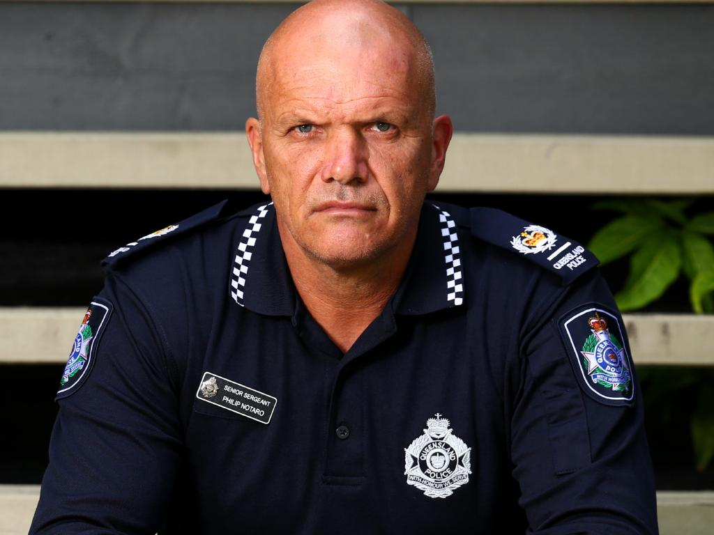 Snr-Sgt Phil Notaro has called for an inquiry into the Queensland Police Service. Picture: Adam Head