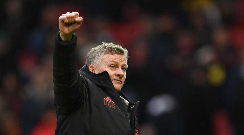 Manchester United boss Ole Gunnar Solskjaer registered his fifth straight win.