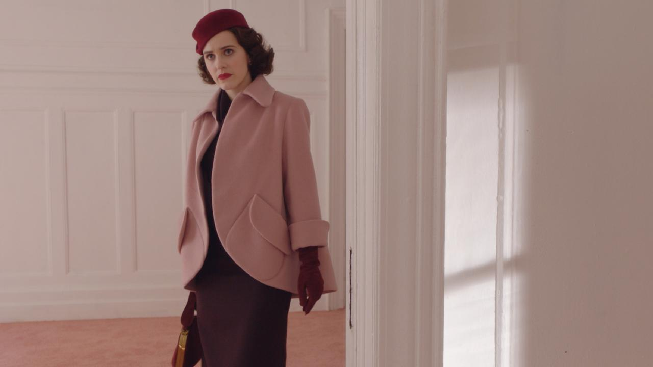 Rachel Brosnahan in The Marvelous Mrs. Maisel. Picture: Supplied