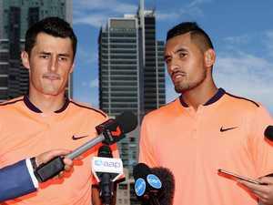 Blockbuster showdown between tennis brats