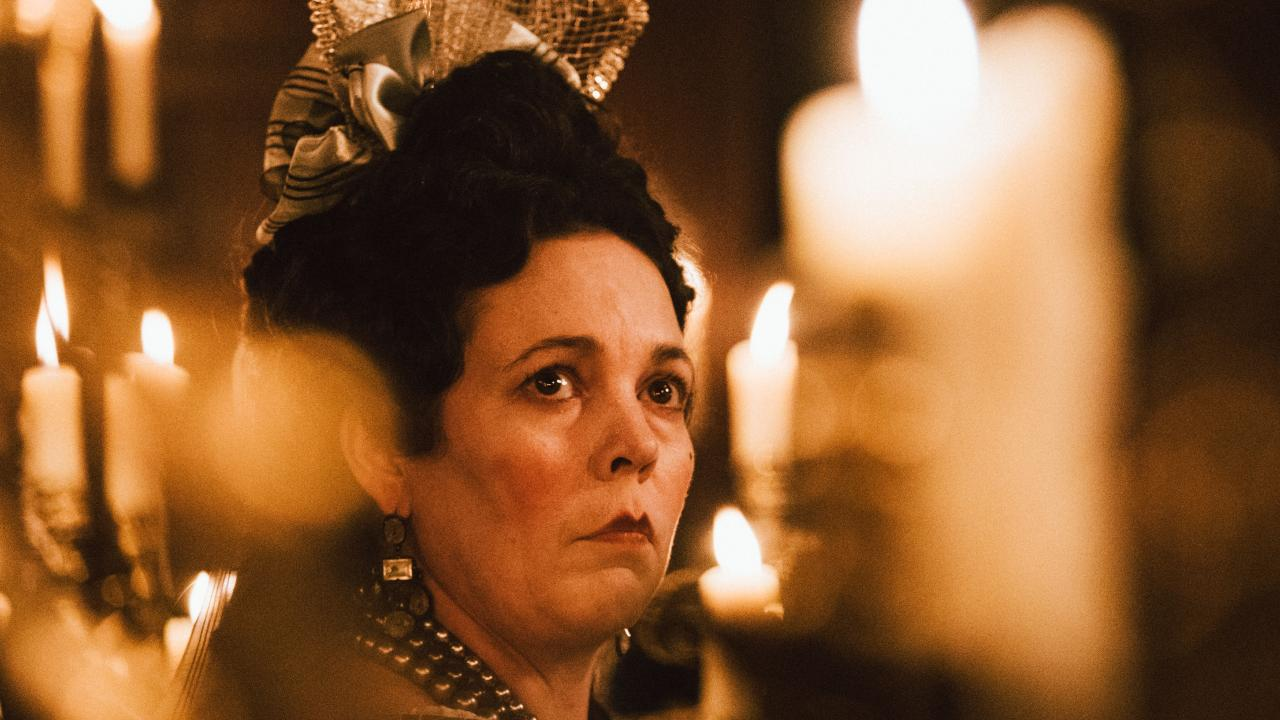 Olivia Colman in The Favourite. Picture: Supplied