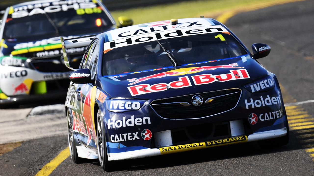 Craig Lowndes will partner Jamie Whincup at the Red Bull Holden Racing Team. Picture: Getty Images