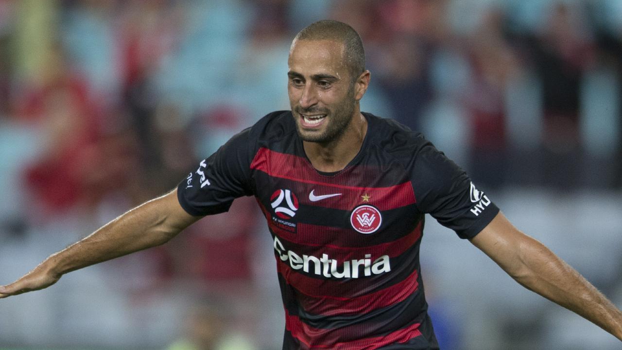 Tarek Elrich has been sent an abusive message by a fan.