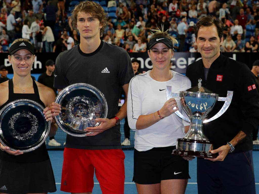 Team Switzerland loves the Hopman Cup.