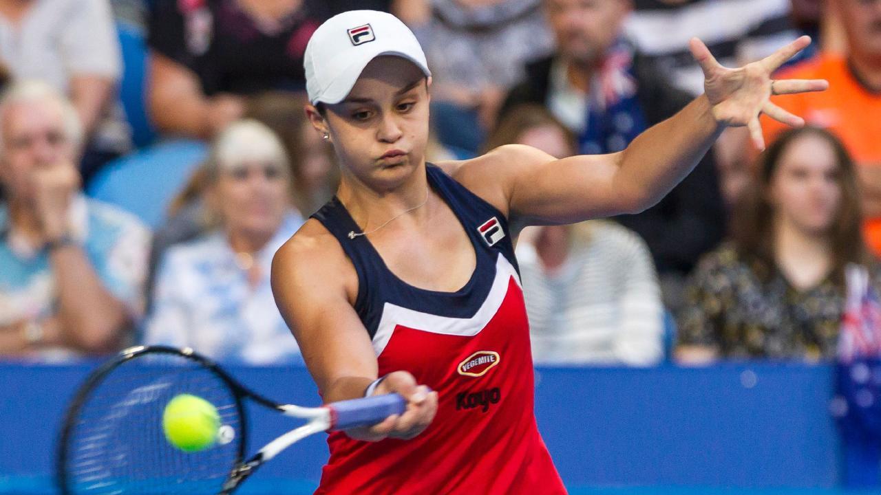 Ashleigh Barty has embraced tough draw in Sydney.
