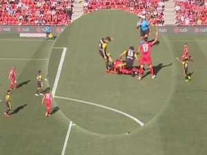 A-League star slammed for 'disgraceful' kick