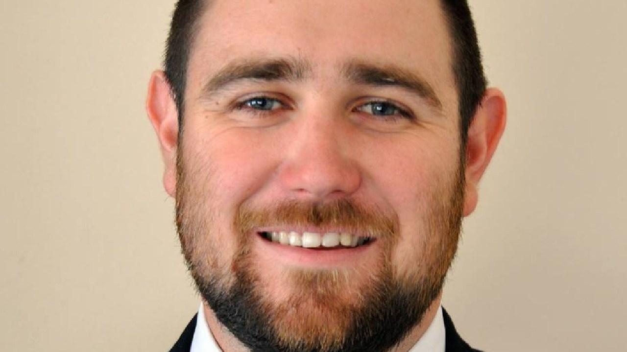 New Zealand pastor Logan Robertson.
