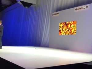 The Wall television by Samsung