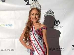 Mt Marlow model crowned 2019 Miss Teen Fashion Week