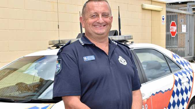 GOOD START: Gatton station officer in charge senior sergeant Rowland Browne said police had few issues on the roads during the Christmas break.