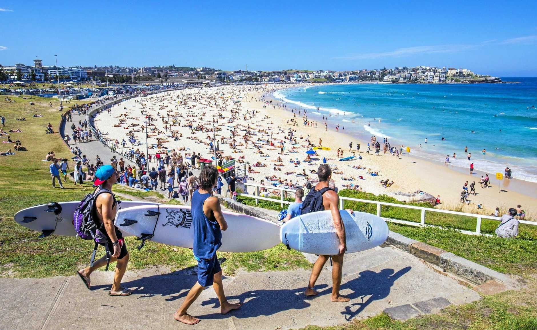 BONDI BEACH: The top of the list for the world's best city beaches.