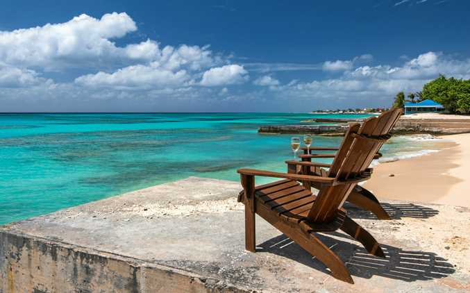 GRACE BAY: The scenic Caribbean view in Grand Turk.