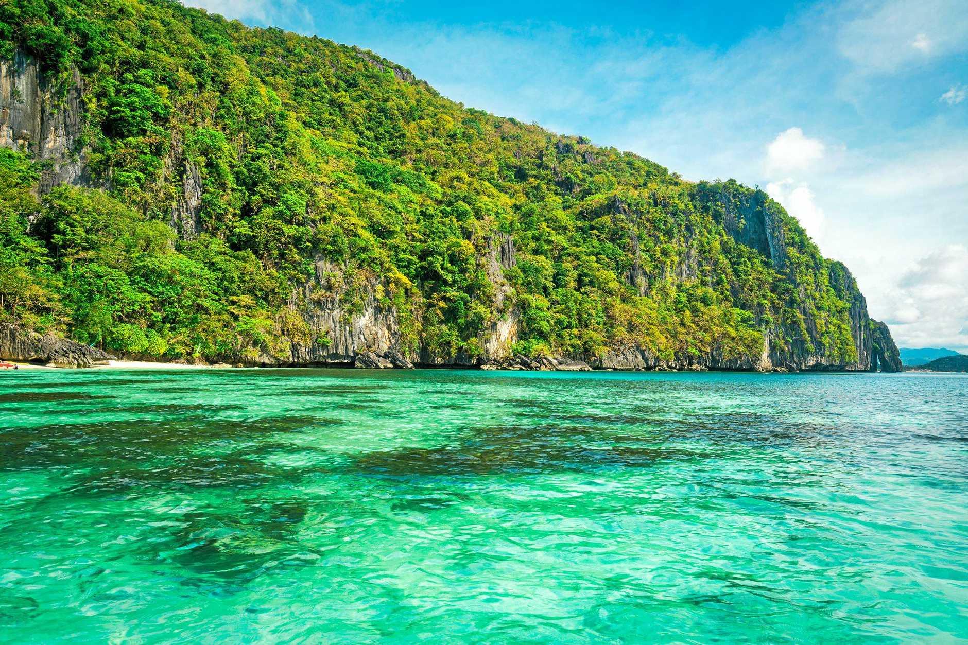 TOP ASIAN BEACH: The scenic Hidden Beach, El Nido Palawan, Philippines.