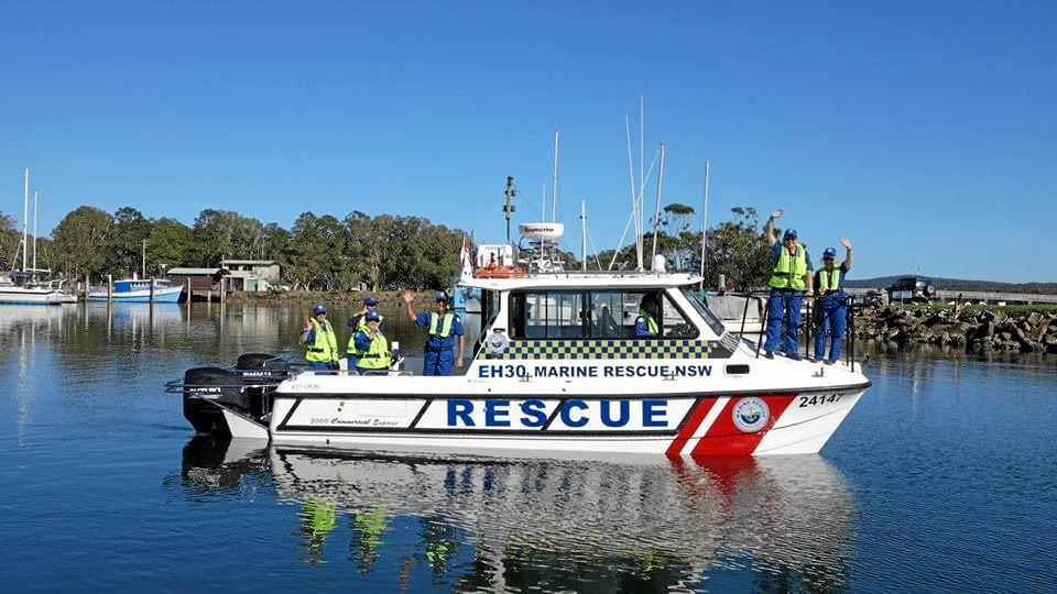 Evans Head Marine Rescue crew.