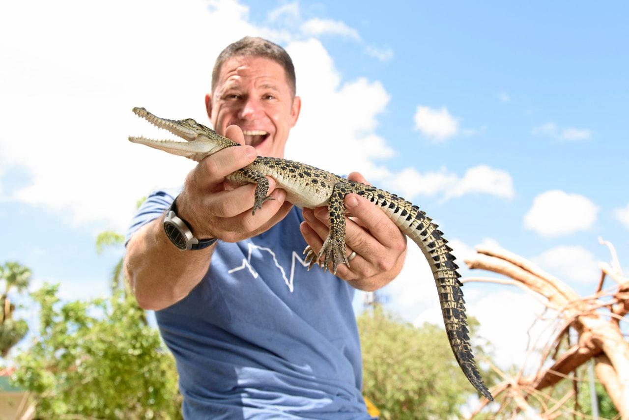 DEADLY 60: Steve Backshall hits the road for his Australian tour with deadly guests.