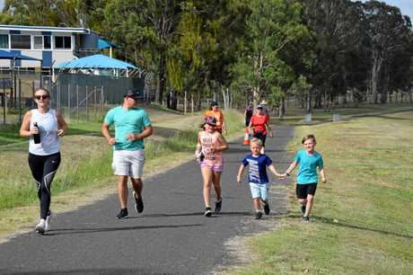 FAMILY AFFAIR: parkrun is an event for all the family.