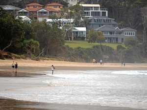 Family lucky to escape a rip at Coffs Coast beach