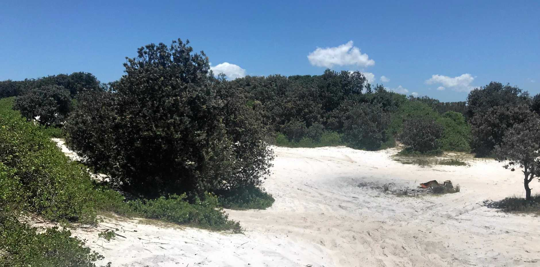 An Empire Vale resident has slammed irresponsible 4WDers who have been tearing up beaches at South Ballina.