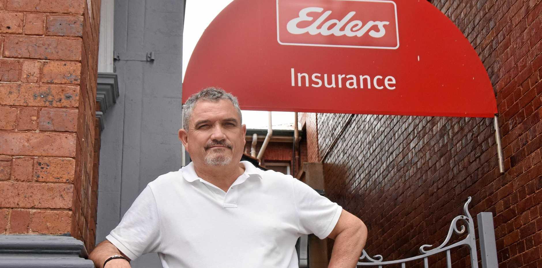Elders Insurance Warwick insurance agent Warren Webster is celebrating 20 years since the business opened its doors in town.