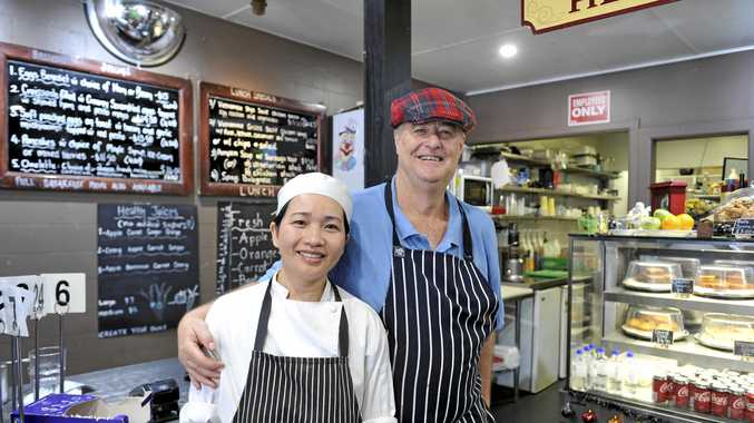 New owners of Coffee Art Cafe Stephen James and wife Tran Thi Lan Phuong have brought a Vietnamese flavour to Maclean.
