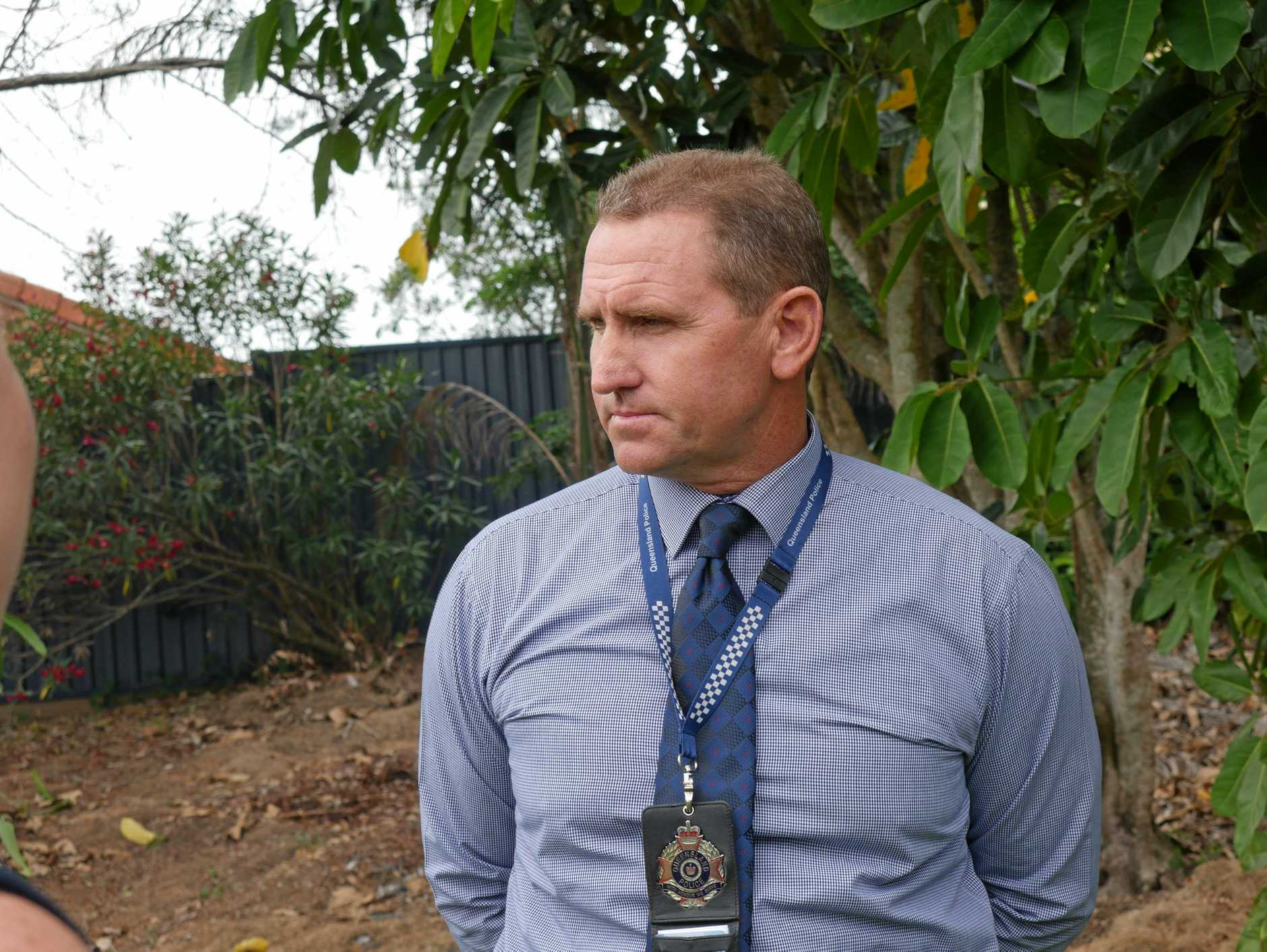 Detectives investigate a serious assault on Alice St, Pialba on January 7 - Detective Acting Inspector Wade Lee.