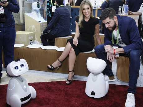 A robot demonstration at the CES international technology show. Picture: ces.tech