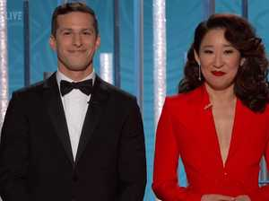 Golden Globes: Sandra Oh's jokes steal the show