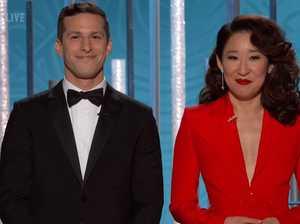 Golden Globes: Sandra Oh's jokes steal the show