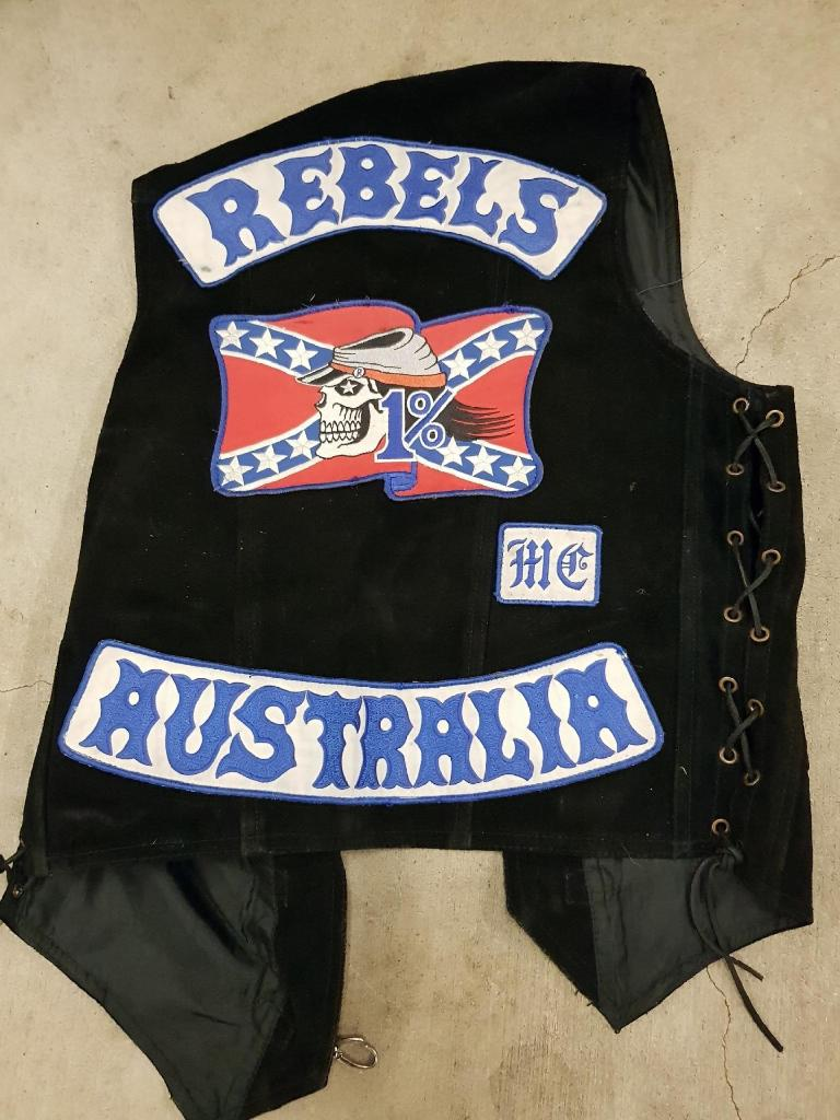 Rebels bikies were arrested during a statewide blitz. Photo: QPS