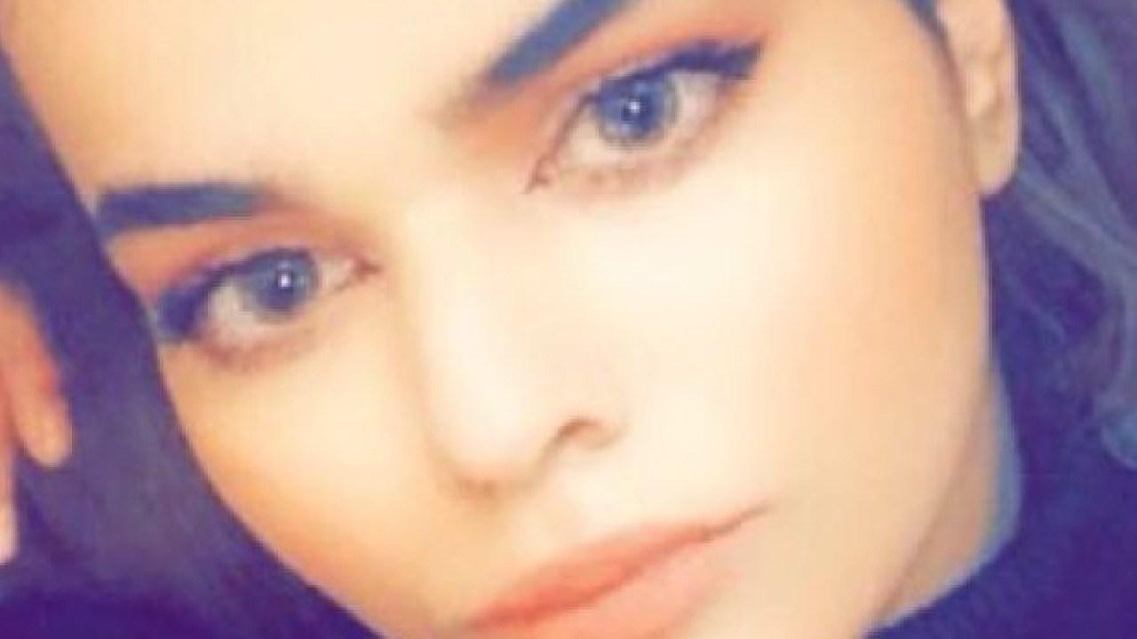 Saudi woman Rahaf Mohammed Mutlaq Alqunun, 18, on her way to Australia, had her passport confiscated in Bangkok airport despite having a visa. Pic: Twitter
